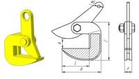 Захват для листа ЗГЛ-1/ЗГЛ-1,5/ЗГЛ-2,5