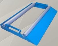 Приспособление (подкатные ролики)  для установки и размотки кабельных барабанов.