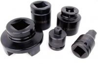 Высокопрочные торцевые насадки из хромомолибденовой стали для гайковертов серии LBT/MXTA/S