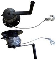 Лебедка ручная ЛР-0,15 (135 кг канат 10м)