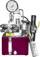 Гидравлические насосные станции с пневмоприводом
