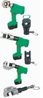 Пресс для опресовки наконечников кабеля гидравлический